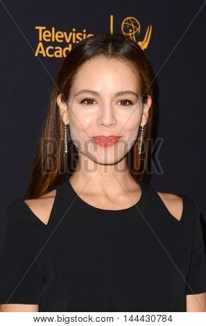LOS ANGELES - AUG 25:  Martina Garcia at the 4th Annual Dynamic & Diverse Celebration at the TV Academy Saban Media Center on August 25, 2016 in North Hollywood, CA