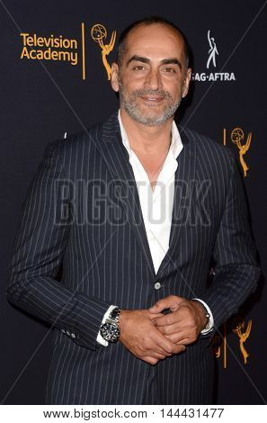 LOS ANGELES - AUG 25:  Navid Negahban at the 4th Annual Dynamic & Diverse Celebration at the TV Academy Saban Media Center on August 25, 2016 in North Hollywood, CA