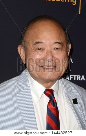 LOS ANGELES - AUG 25:  Clyde Kusatsu at the 4th Annual Dynamic & Diverse Celebration at the TV Academy Saban Media Center on August 25, 2016 in North Hollywood, CA