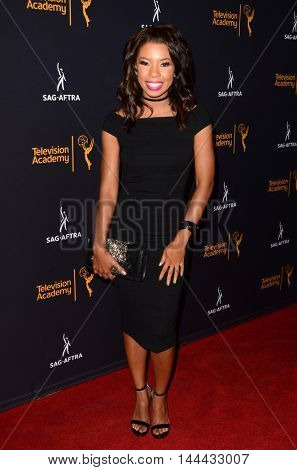 LOS ANGELES - AUG 25:  Angel Parker at the 4th Annual Dynamic & Diverse Celebration at the TV Academy Saban Media Center on August 25, 2016 in North Hollywood, CA