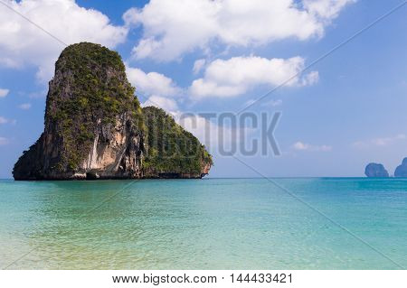 Phi-Phi Island south of Thailand, natural landscape background