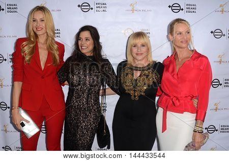 LOS ANGELES - AUG 26:  Petra Nemcova, Kamala Lopez, Patricia Arquette, Nicolette Sheridan at the