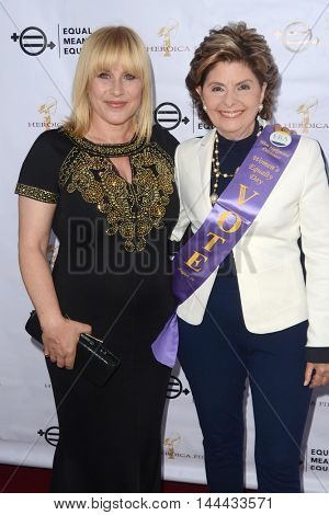 LOS ANGELES - AUG 26:  Patricia Arquette, Gloria Allred at the