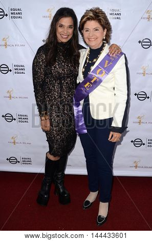 LOS ANGELES - AUG 26:  Kamala Lopez, Gloria Allred at the