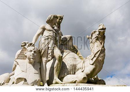 Egyptian Albert Memorial In London, Uk