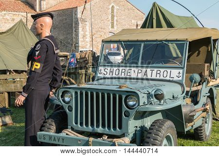 Military Jeep Of The