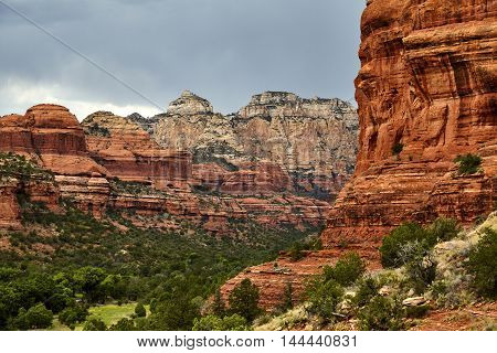 Mountains In Boynton Canyon Sedona Arizona