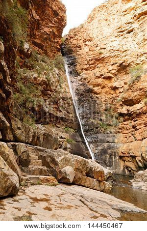 Meiringspoort Waterfall In De Rust