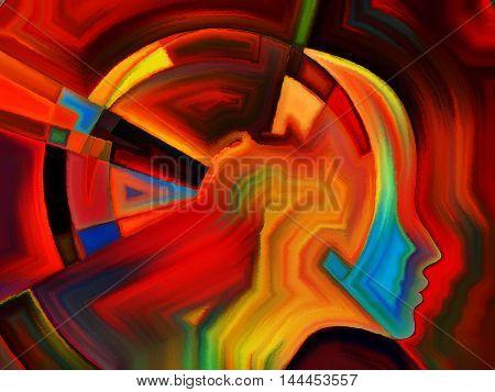 Colors Of Internal Geometry