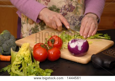 Slicing Veggies