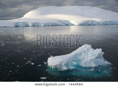 Icebergs And Brash Ice