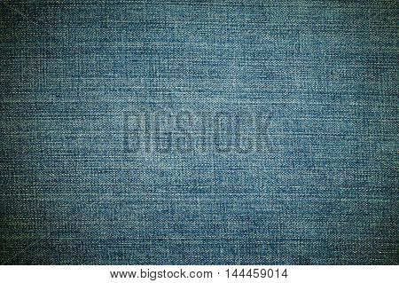 Vignetting denim or blue jeans pattern, background concept