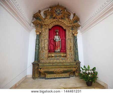 Sacred Heart Of Jesus, Cathedral Of Aveiro, Centro Region, Portugal
