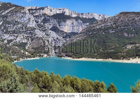 St Croix Lake Les Gorges du Verdon Provence France
