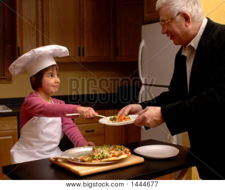 Pizza For Grandpa