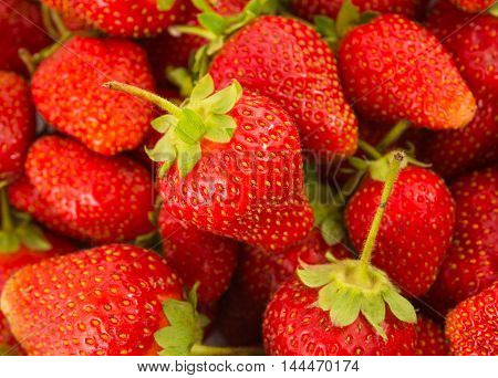 Fresh Strawberry natural, berry, sweet, saturated Background