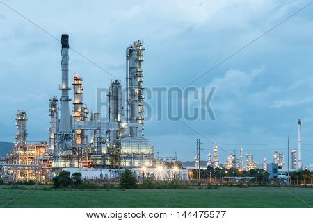 Oil Refinery Plant Tower