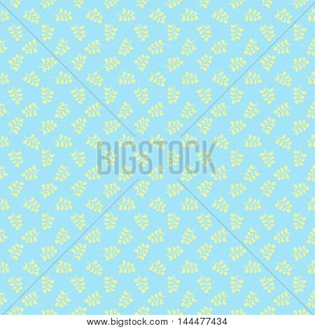 Vector seamless floral damask pattern for wedding invitation