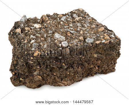 A piece of asphalt