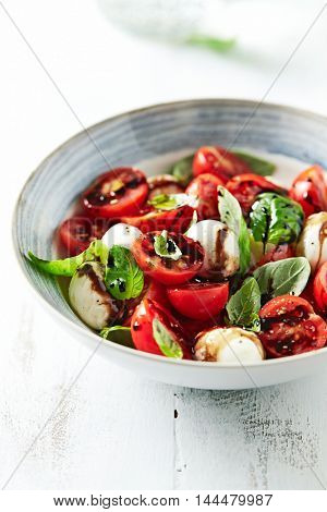 Caprese Salad with Balsamic Vinegar