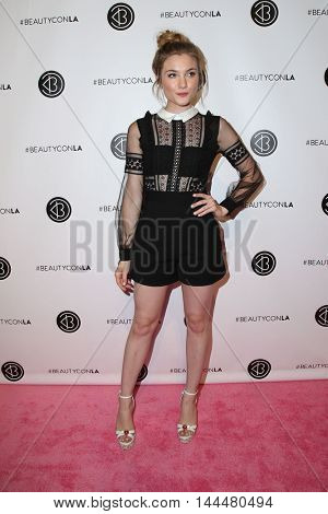 LOS ANGELES - JUN 9:  Skyler Samuels at the 4th Annual Beautycon Festival at the Los Angeles Convention Center on June 9, 2016 in Los Angeles, CA