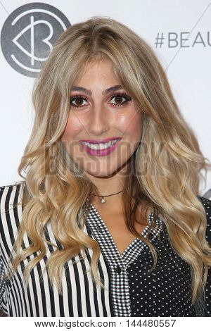 LOS ANGELES - JUN 9:  Rebecca Zamolo at the 4th Annual Beautycon Festival at the Los Angeles Convention Center on June 9, 2016 in Los Angeles, CA