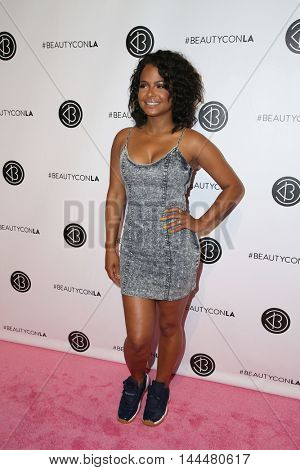 LOS ANGELES - JUN 9:  Christina Milian at the 4th Annual Beautycon Festival at the Los Angeles Convention Center on June 9, 2016 in Los Angeles, CA