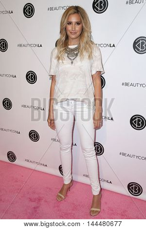 LOS ANGELES - JUN 9:  Ashley Tisdale at the 4th Annual Beautycon Festival at the Los Angeles Convention Center on June 9, 2016 in Los Angeles, CA