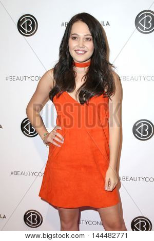 LOS ANGELES - JUN 9:  Kelli Berglund at the 4th Annual Beautycon Festival at the Los Angeles Convention Center on June 9, 2016 in Los Angeles, CA