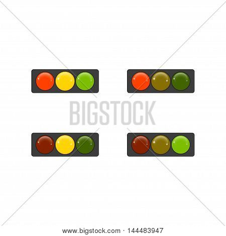 drawing traffic light signals and mechanisms. Miscellaneous.