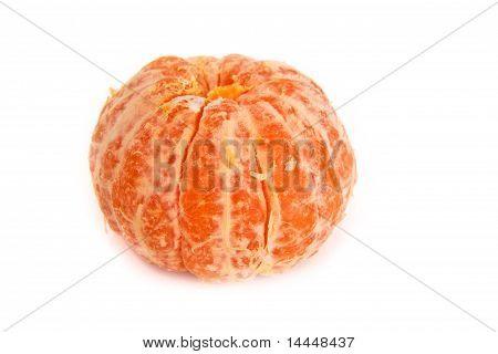 Descascados laranja mandarim