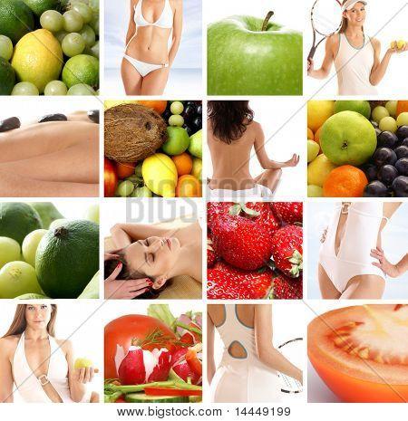 Diät-collage