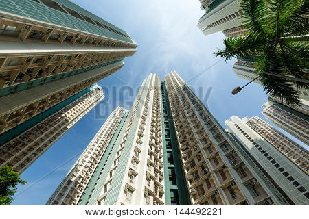 Tall building to the sky