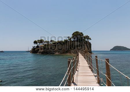 Cameo (agios Sostis), Small Island In Zakynthos, Greece