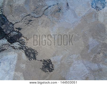 Background and Texture of Frosted glass table top