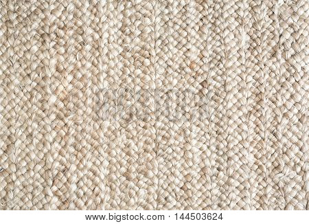 Closeup fine detail of carpet texture background.