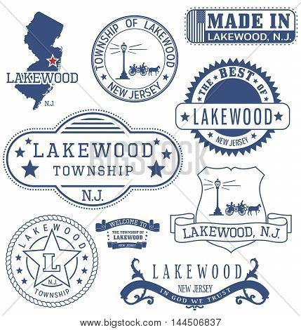 Lakewood Township, Nj, Generic Stamps And Signs