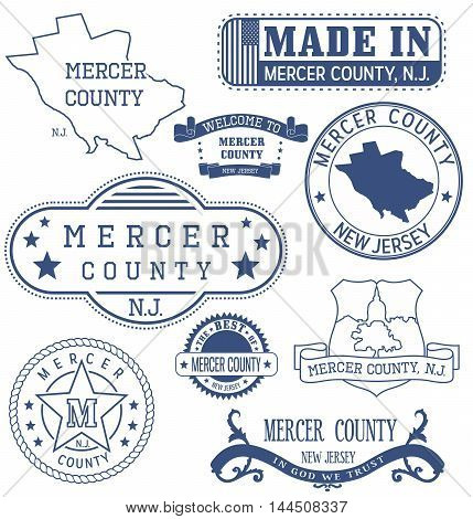 Mercer County, Nj, Generic Stamps And Signs