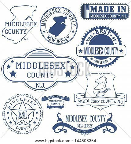 Middlesex County, Nj, Generic Stamps And Signs