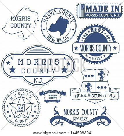 Morris County, Nj, Generic Stamps And Signs