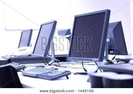 Moderne Computerräume