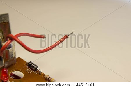 electronics charging circuit with rechargeable batteries with details