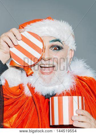 Happy Joy Santa Claus