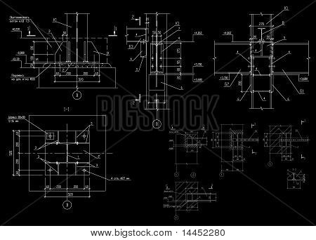 Construction Plan Of Metal Designs