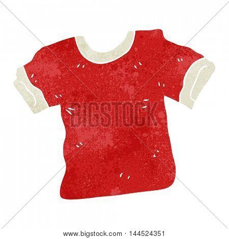 freehand retro cartoon t shirt
