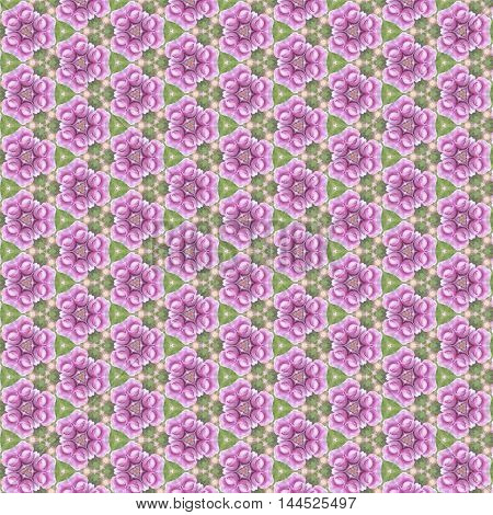 Vintage look delicate pink rose in tileable seamless repeat pattern seamless
