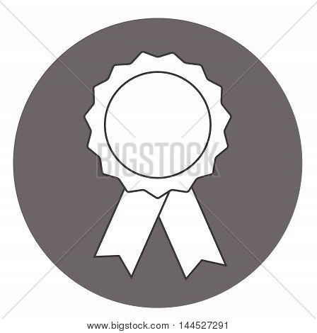 Pictograph of award icon Award medal icon Best guarantee symbol