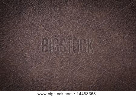 brown luxury leather texture closeup can be used as background design