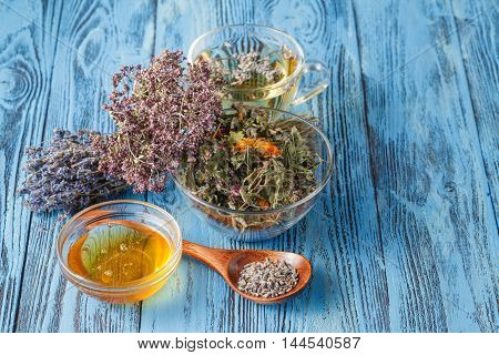 Healthy Lavender Tea Cup