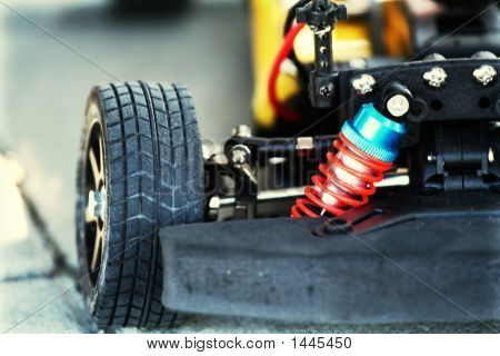 Car - Engine And Wheels